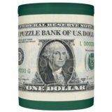 3D貯金箱48ピース:パズルDE貯金箱・1ドル《カタログ落ち商品》
