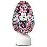 3D球体80ピース:パズランタンエッグ ジュエル-ミニーマウス-(3色発光)《廃番商品》