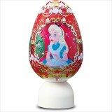 3D球体80ピース:パズランタンエッグ クラウンエッグ-アリス-(3色発光)