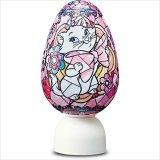 3D球体80ピース:パズランタンエッグ ジュエル-ディズニー マリー-(3色発光)
