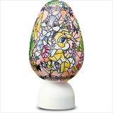 3D球体80ピース:パズランタンエッグ ジュエル-ミス・バニー&とんすけ-(3色発光)