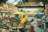 ■300ピースジグソーパズル:サムおじさんの修理工場(溪川弘行)《廃番商品》