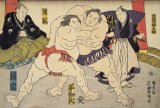 ★31%off★300ピースジグソーパズル:大相撲 錦絵「取組の図」