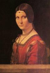 ★30%off★300ピースジグソーパズル:ミラノの貴婦人の肖像(ダ・ヴィンチ)
