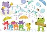 ★27%off★300ピースジグソーパズル:かえるのピクルス 雨の音楽