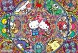 【引上品】■1000ピースジグソーパズル:サンリオ ステンドグラス ミュージカル《廃番商品》