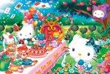 ◆希少品◆1000ピースジグソーパズル:ハローキティのティーパーティ《廃番商品》