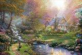1000ピースジグソーパズル:マザーズ パーフェクトデイ(トーマス・キンケード)《廃番商品》