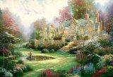 ■1000ピースジグソーパズル:春の庭(トーマス・キンケード)