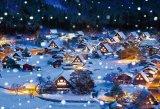 ■1000ピースジグソーパズル:雪降る白川郷