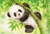 ■300ピースジグソーパズル:わんぱくパンダ(原井加代美)