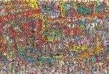 ★33%off★こどもジグソー40ピースジグソーパズル:Where's Wally? おもちゃがいっぱい