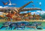 ★26%off★こどもジグソー40ピースジグソーパズル:恐竜大きさくらべ・ワールド