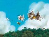 ◆希少品◆500スモールピースジグソーパズル:みつばちになって空を飛ぶ(わちふぃーるど)《廃番商品》