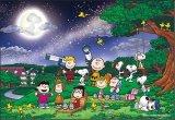 ■300ピースジグソーパズル:PEANUTS/スヌーピー 満月の下で《廃番商品》