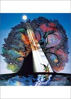 画像1: ■500ピースジグソーパズル:月光の響(藤城清治)