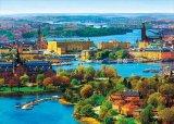 【取寄商品】★31%off★500ピースジグソーパズル:北欧の輝き ストックホルム旧市街