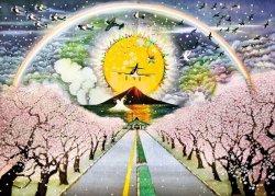 画像1: ★31%off★500ピースジグソーパズル:平和の世界へ(藤城清治)