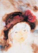 ★27%off★500ピースジグソーパズル:バラ飾りの帽子の少女(いわさきちひろ)