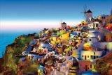■1000ピースジグソーパズル:サントリーニ 〜夕景〜《廃番商品》