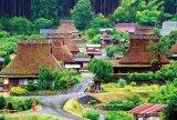 ■1000ピースジグソーパズル:雨上がりの美山町