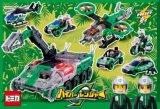 ◆希少品◆60ラージピースジグソーパズル:ハイパーグリーンレンジャー出発!《廃番商品》