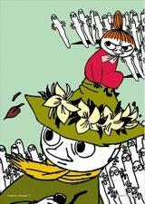■プリズムアート108ピースジグソーパズル:ムーミン リトルミイとスナフキン