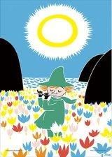 ■プリズムアート108ピースジグソーパズル:ムーミン 笛を吹いて