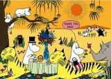 ★33%off★プリズムアート108ピースジグソーパズル:ムーミン 動物達とのひと休み