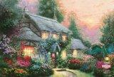 ◆希少品◆1000ピースジグソーパズル:ジュリアンズコテージ(トーマス・キンケード)《廃番商品》
