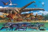 ★32%off★1000ピースジグソーパズル:恐竜大きさくらべ・ワールド