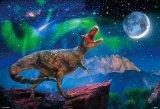 ★26%off★1000ピースジグソーパズル:星月夜のティラノサウルス