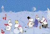 ★36%off★プリズムアート216ピースジグソーパズル:楽しい冬のムーミン谷