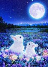 ■600ピースジグソーパズル:月待ちうさぎ(ウィルファー)