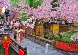 ★31%off★600ピースジグソーパズル:桜咲く祇園