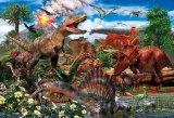★26%off★おおきなピース 80ピースジグソーパズル:白亜紀の恐竜