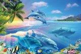 ◆希少品◆1000ピースジグソーパズル:ブルーオーシャン〜Sunrise〜(マリア)《廃番商品》