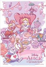 ■プリズムアート70ピースジグソーパズル:おかしなティー・パーティー(不思議の国のアリス)《廃番商品》