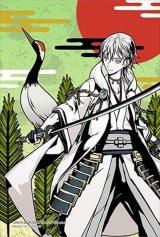 ■プリズムアート70ピースジグソーパズル:刀剣乱舞-ONLINE- 鶴丸国永(松に鶴)
