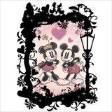 【取寄商品】★32%off★プリズムアート70ピースジグソーパズル:KIRIART(キリアート)-Mickey&Minnie(ミッキー&ミニー)-