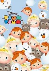 ■プリズムアート70ピースジグソーパズル:「ツムツム」-アナと雪の女王-