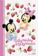 ◆希少品◆プチパズル204ピース:ベビーミッキー&ベビーミニー《廃番商品》