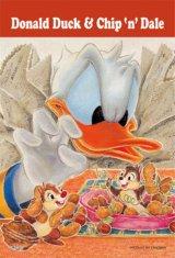 ◆希少品◆プチパズル204ピース:ナッツ大好き!(チップ&デール)《廃番商品》