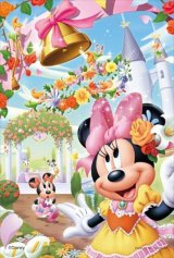 ★32%off★プチパズル99ピース:ディズニー 花の国