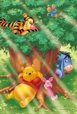 ■プチパズル99ピース:大きな木の下で(くまのプーさん)