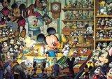 ◆希少品◆108ピースジグソーパズル:ミッキーのおもちゃ工房〈光るジグソー〉《廃番商品》