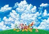 【引上品】◆希少品◆108ピースジグソーパズル:大空はみんなのギャラリー《廃番商品》