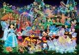 ★30%off★ステンドアートぎゅっとサイズ500ピースジグソーパズル:マジカルイルミネーション