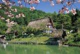 ◆希少品◆2000スモールピースジグソーパズル:飛騨の里 花便り《廃番商品》