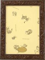ディズニーアートフィギュアパネル108ピース用ブラウン(18.2×25.7cm/1-ボ)